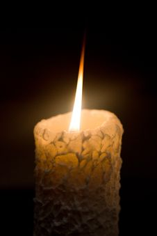 Free Candle Royalty Free Stock Photo - 28480135