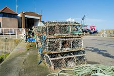 Free Lobster Pots Stock Photo - 28482490