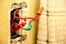 Free Wiring Solution Royalty Free Stock Photos - 28486298