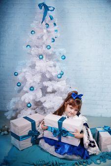 Free Little Girl On Holidays Stock Photos - 28487243