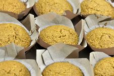 Free Homemade Bran Muffins Royalty Free Stock Photography - 28489597