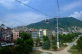 Free Cable Car And Pole In The City Of Ordu Stock Photo - 28498460