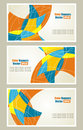 Free Set Of  Abstract Banners Stock Photos - 28499163