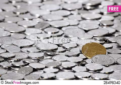 Free Many Coins Stock Photo - 28498340