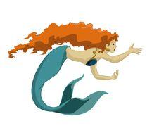 Free Mermaid Royalty Free Stock Photo - 28491725