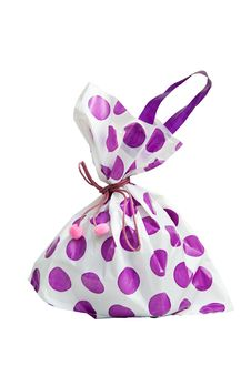 Free Purple Shopping Bag Royalty Free Stock Images - 28492519