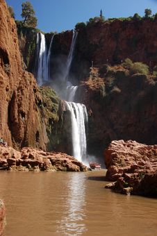Free Cascade D'Ouzoud, Waterfall, Morocco Stock Photography - 28493062