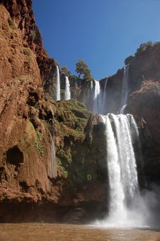 Free Cascade D'Ouzoud, Waterfall, Morocco Stock Photography - 28493072