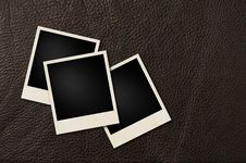 Free Instant Films Leather Royalty Free Stock Photography - 28495507