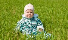 Free Child On Grass Stock Photos - 28495543