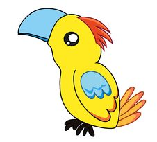 Free Colorful Cute Parrot Stock Photo - 28497210