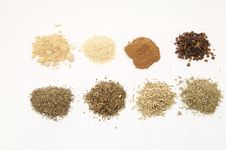 Free Set Of Spices Stock Image - 28497891