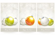 Free Christmas Banners Royalty Free Stock Image - 28499106