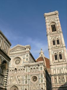 Free Duomo And Giotto S Campanile Royalty Free Stock Image - 2850166