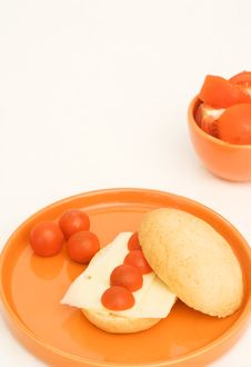 Free Tomato Breakfast Royalty Free Stock Images - 2850359