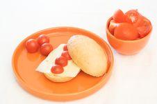 Free Tomato Breakfast Royalty Free Stock Image - 2850366