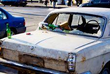 Free Broken Car Stock Photo - 2851390