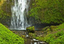 Mutinomah Falls Mem Royalty Free Stock Images