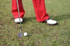 Free Golf Legs Horisontal Stock Images - 2852274