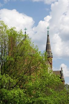 Free Church Steeples Stock Photography - 2853682