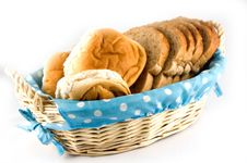 Free Bread In A Basket Stock Photo - 2855050