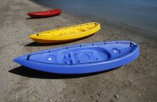 Free Kayaks Stock Images - 2855534