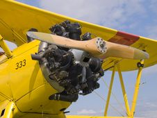 Free Boeing Stearman Royalty Free Stock Photography - 2855767