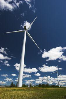 Free Wind Farm Stock Image - 2856091