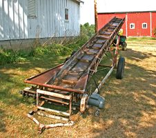 Farm Loader Stock Photo