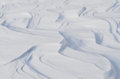 Free White Winter Snowdrift Curves Royalty Free Stock Photo - 28500395