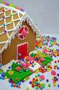 Free Little Gingerbread House Royalty Free Stock Image - 28504686