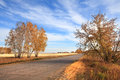 Free Road To The Fields. Autumn Landscape Royalty Free Stock Images - 28507199