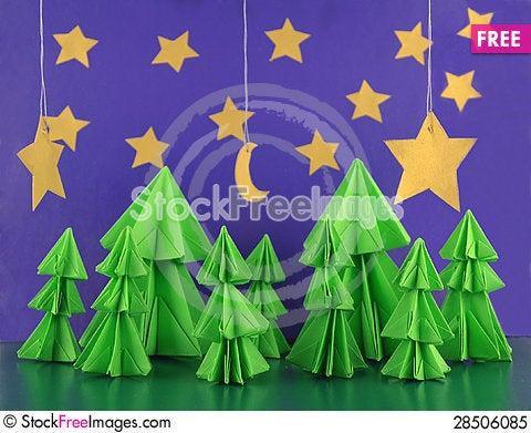 Free Magic Night Royalty Free Stock Photo - 28506085