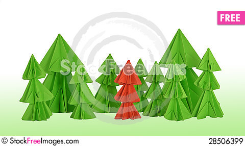 Free Red Conifer Royalty Free Stock Images - 28506399