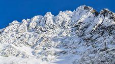 Free Winter Rocky Mountain Peak Stock Image - 28500401