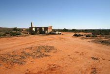 Abandoned Homestead Australian Outback Stock Image