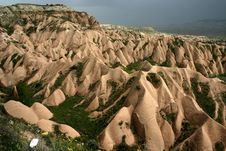 Peaked Rock, Central Turkey Royalty Free Stock Image