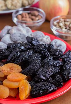 Free Different Dried Fruits Royalty Free Stock Photography - 28502397