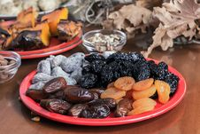 Free Different Dried Fruits Stock Photo - 28502430