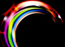 Free Colorful Curve Royalty Free Stock Image - 28505386