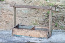 Free Old Wooden Tool Box Royalty Free Stock Photography - 28506257