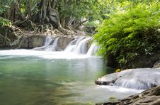 Free Deep Forest Waterfall In Saraburi, Thailand Royalty Free Stock Photo - 28507055