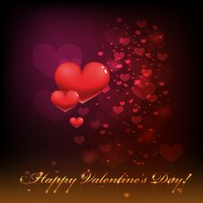 Free Happy Valentines Day. Royalty Free Stock Photos - 28508218