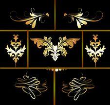 Free Floral Design Elements Stock Images - 28509034