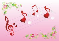 Composition For Valentine S Day Royalty Free Stock Images