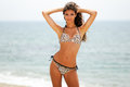 Free Woman With Beautiful Body On A Tropical Beach Stock Photos - 28512943
