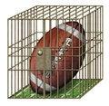 Free Jailed Football Stock Photo - 28513120