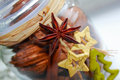 Free Christmas Decoration In A Glass Jar Royalty Free Stock Images - 28517059