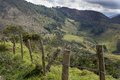 Free Fence Line In Mountains Stock Photo - 28517460