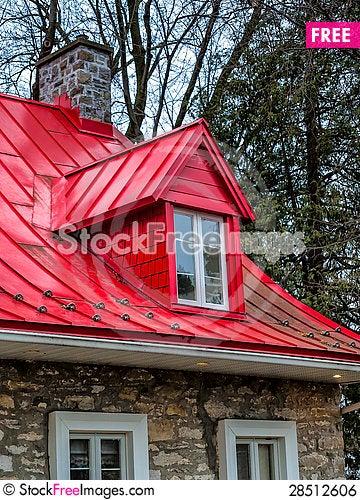 Free Hamilton House Skylight Royalty Free Stock Image - 28512606